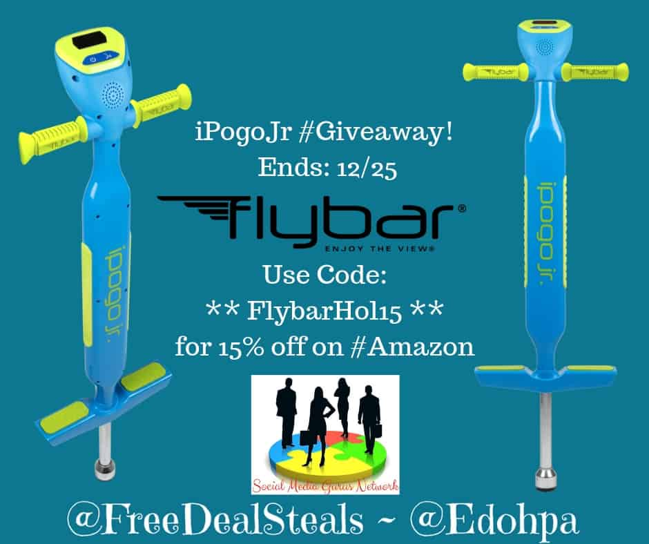 FLybar iPogoJr with Digital LED Counter Giveaway