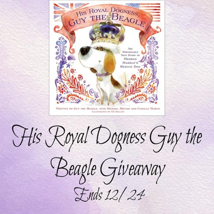 His Royal Dogness, Guy the Beagle: The Rebarkable True Story of Meghan Markle's Rescue Dog Hardcover – November 20, 2018