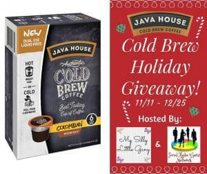 JAVA HOUSE Authentic Cold Brew, Colombian Black Pods, 6 count