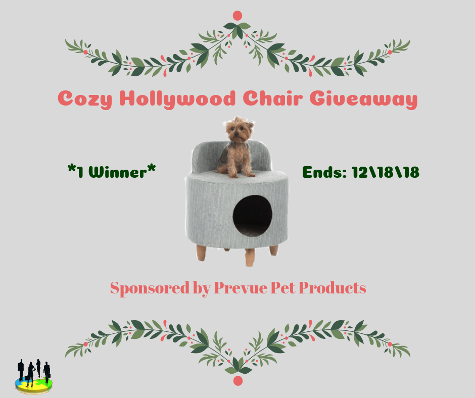 Prevue Pet Products Hollywood Chair Gray 7382
