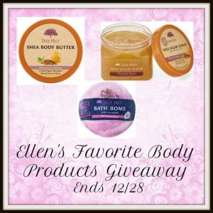 Tree Hut Organic Natural beauty body scrubs an shea butter