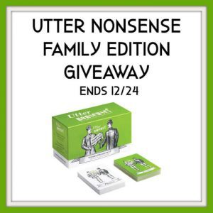 Utter Nonsense Family Edition The Game of Funny Voices and Accents