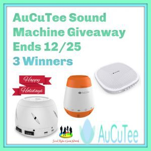 White Noise Machine, AuCuTee Sound Spa-Soothing and Relaxing Nature Sleep Aid Therapy Sounds for Home